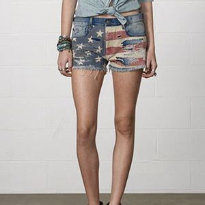 Denim & Supply Ralph Lauren Flag 🇺🇸 Shorts